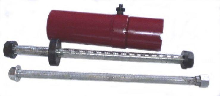 Съемник гидравлический для выпрессовки и запрессовки сайлентблоков диаметром до 80мм