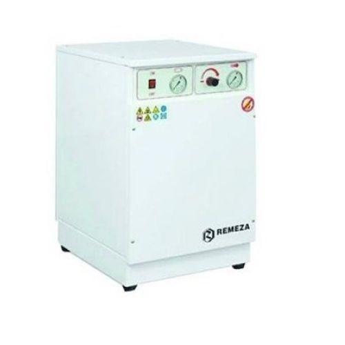 компрессор безмасляный мед. 150л/м, 8бар, 1.1 кВт. 220 В, ресивер 16 л, шумозащищенный, с осушителем
