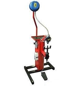 Электрический шиповальный полуавтомат 'Клёст-Пневматик'                   (220В с пневматическим приводом для шипов Ø8мм)
