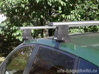 Багажник на крышу Ford Fiesta V, Атлант, аэродинамические дуги