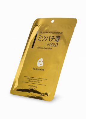 Японская восстанавливающая маска для лица Q10 + Коллаген Mitomo для чувствительной кожи