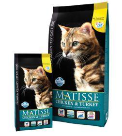 Farmina Matisse Chicken & Turkey Корм для взрослых кошек Курица и индейка (400 г)