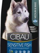 Farmina Cibau Sensitive Fish Medium & Maxi Для собак крупных и средних пород с рыбой (12 кг)