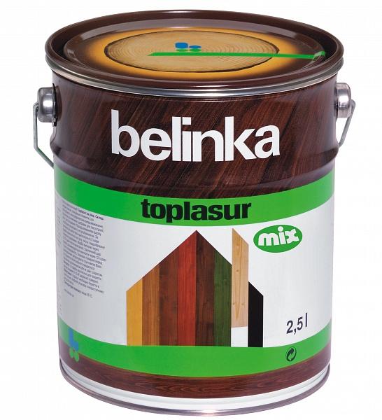 Лазурь для защиты древесины  BELINKA TOPLASUR MIX