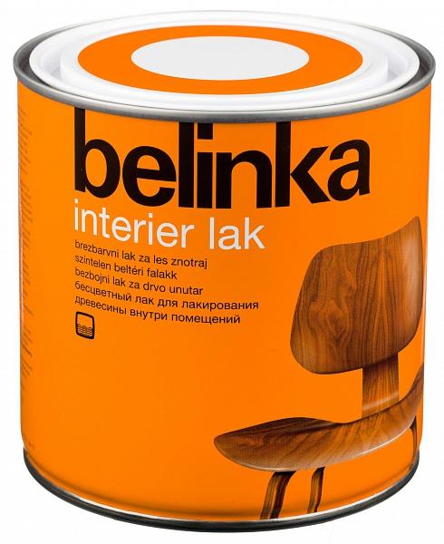 Belinka Interier Lak  покрытие для защиты древесины