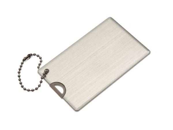 8GB USB-флэш накопитель UsbSouvenir U504MAC Metal Aluminum Card