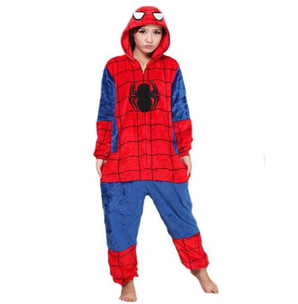 Пижама Кигуруми Человек-Паук_01