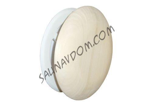 Sawo 634-А Вентиляционный клапан, диаметр 125 мм., осина.