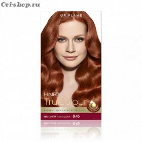 Стойкая краска для волос «Цвет-Эксперт».  Интенсивный медный. 8.45