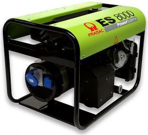 Миниэлектростанция портативная бензиновая PRAMAC ЕS8000 Двигатель Honda GX 390 Номинальная мощность, КВА 7,2 НАПРЯЖЕНИЕ 230 Вольт