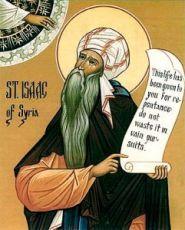 Икона Исаак Сирин (рукописная)