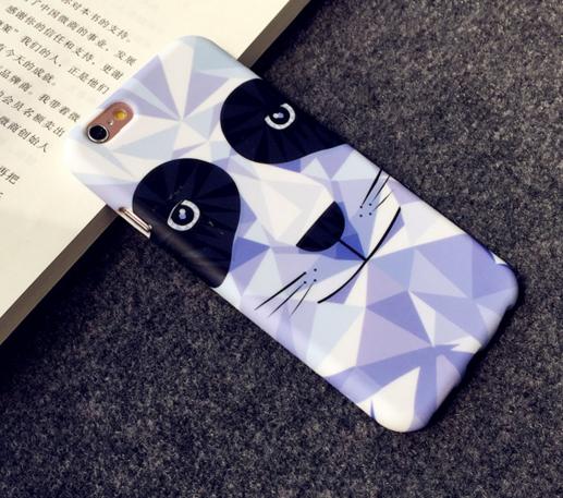 Силиконовый чехол Soft Touch  для Iphone 6/6s (Pand)