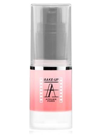 Make-Up Atelier Paris HD Pearled Fluid Blush AIRLI2 Pinky Румяна-флюид HD сияющие розовые