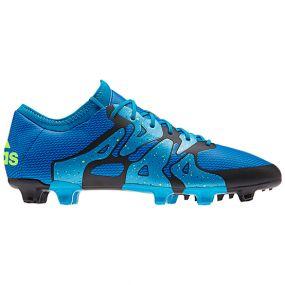 Бутсы adidas X 15.1 FG/AG синие