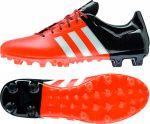 Бутсы adidas Ace 15.3 Leather FG/AG оранжевые