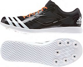 Шиповки для лёгкой атлетики adidas adizero Triple Jump 2 чёрные