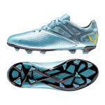 Детские бутсы adidas Messi 15.3 FG/AG Junior голубые