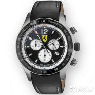 Часы Ferrari Scuderia черный bezel chrono.