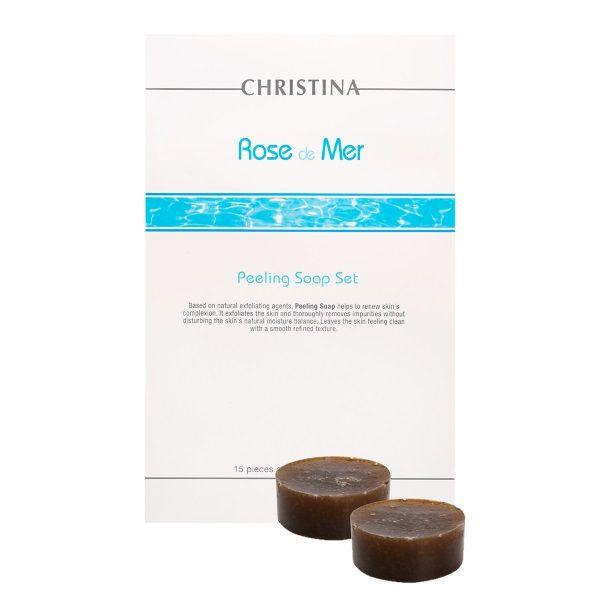 Пилинговое мыло для лица Rose de Mer Christina (Роз Де Мер Кристина) 450 мл