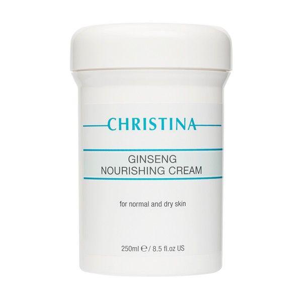 Питательный крем для нормальной кожи лица Женьшень Christina (Кристина) 250 мл