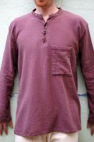 Мужская коричневая рубашка из органического хлопка, Санкт-Петербург