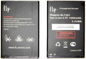 Аккумулятор Fly IQ445 Genius (BL7201) Оригинал