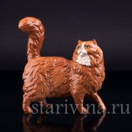 Рыжий кот, Royal Doulton, Великобритания, вт. пол. 20 в.