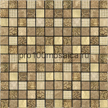 CPR-2305 (DSA-2305) Мозаика Мрамор+Агломерат 23*23 PHARAOH 298*298*6 мм (NATURAL)