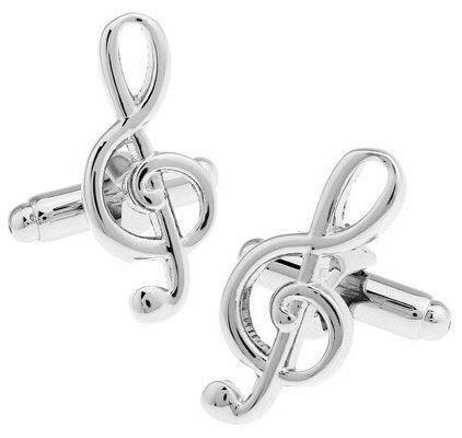 Запонки Скрипичный ключ