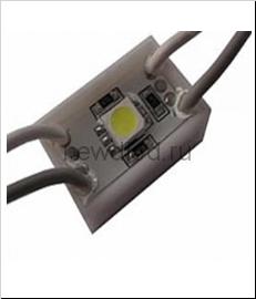 Светодиодный модуль SMD 5050/1LED   24*24*5 мм  IP65 green