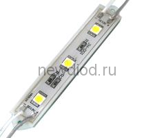 Светодиодный модуль SMD 5050/3LED 90*12*4,5 мм  IP65 white