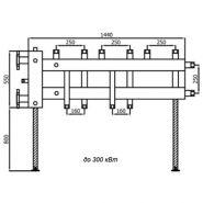 Гидроколлектор «Супер-Стандарт (5-160)»