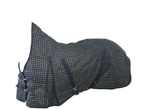 """Денниковая попона  """"Horse Comfort"""", ВЫСОКАЯ шея верх 320 ДЕН, наполнитель 100 гр, нейлоновая подкладка."""