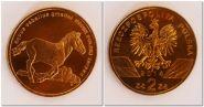 2014 Польша 2 злотых Конь (Коник) Польский Лошадь