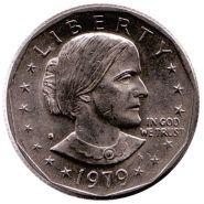 США. доллар 1979г. Сьюзи Энтони (P D S) 3шт разом