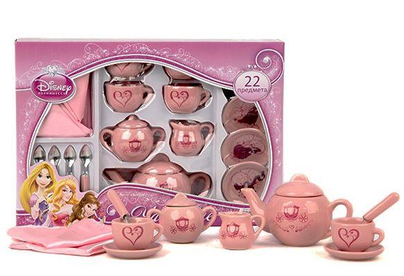 Набор посуды Чайный Сервиз Princess 22 предмета, TM Disney