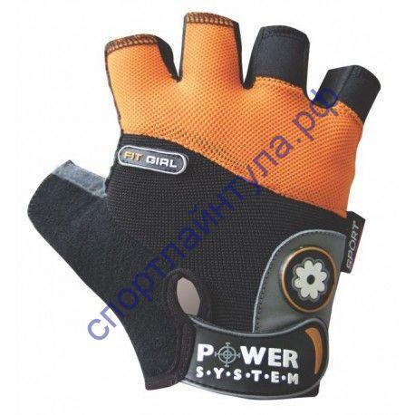 Перчатки для фитнеса PS 2900 оранжевые M