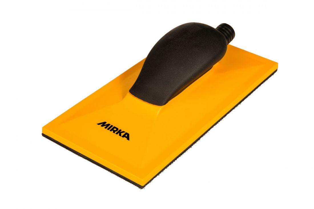 Mirka Ручной шлифовальный блок жёлтый с пылеотводом 115x230 32 отв