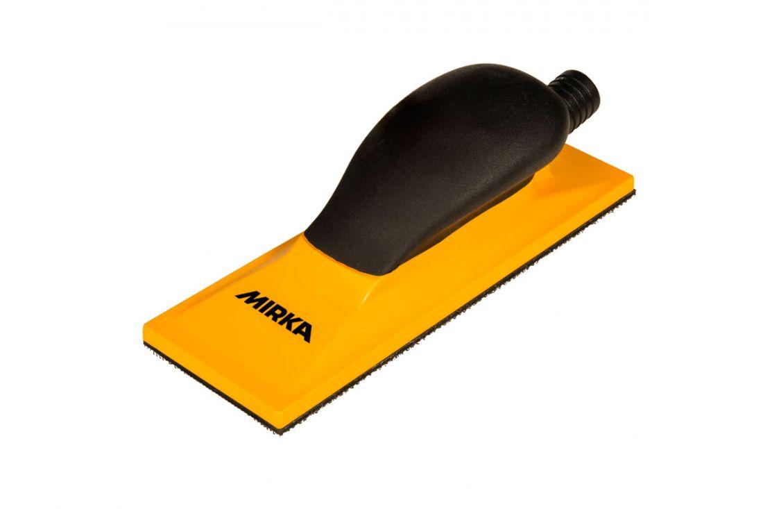 Mirka Ручной шлифовальный блок жёлтый с пылеотводом 70x198 22 отв