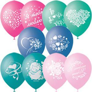 Любовь Рисунки латексные шары с гелием