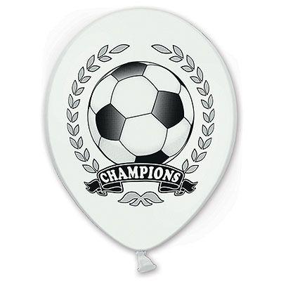 Футбол Чемпион латексные шары с гелием