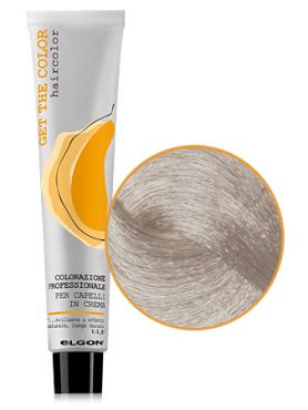 Elgon GET THE COLOR Крем-краска 10.01 платиновый блонд натуральный пепельный
