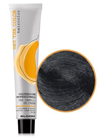 Elgon GET THE COLOR Крем-краска 3.0 темно-каштановый натуральный интенсивный