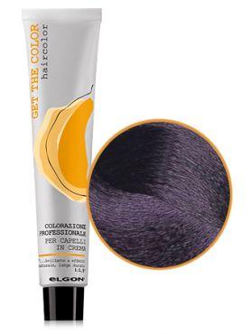 Elgon GET THE COLOR Крем-краска 4.7 каштановый фиолетовый