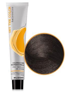 Elgon GET THE COLOR Крем-краска 5.81 светло-каштановый коричневый пепельный
