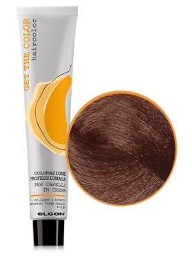 Elgon GET THE COLOR Крем-краска 6.43 темный блонд медно-золотистый