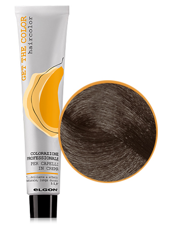 Elgon GET THE COLOR Крем-краска 6.8 темный блонд коричневый