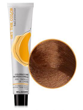 Elgon GET THE COLOR Крем-краска 7.43 блонд медно-золотистый