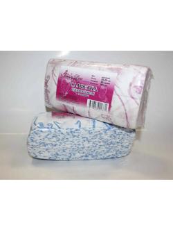 Салфетки одноразовые Размер - 20/20, Плотность - 40; --- 100 штук розовый/голубой