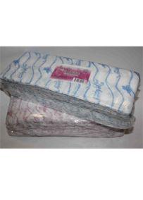Салфетки одноразовые Размер - 30/40, Плотность - 50; --- 100 штук   розовый/голубой